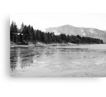 Frozen Tahoe Canvas Print