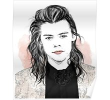 Harry flowersuit Poster