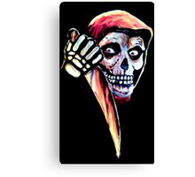 The Halloween Fiend Canvas Print