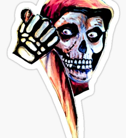 The Halloween Fiend Sticker
