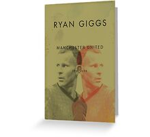 Ryan Giggs - Manchester United Greeting Card