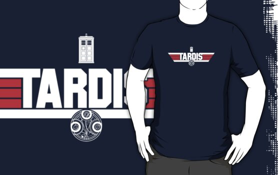 POLICE BOX by geekchic  tees