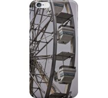 Ferris Wheel at a Traveling Carnival iPhone Case/Skin