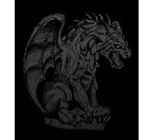 Spooky Gargoyle Photographic Print