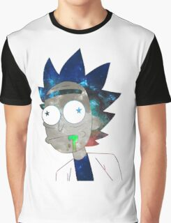 Space Rick Graphic T-Shirt