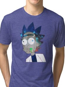 Space Rick Tri-blend T-Shirt