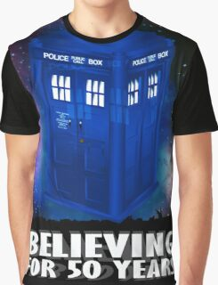 DR WHO BELIEVING Graphic T-Shirt