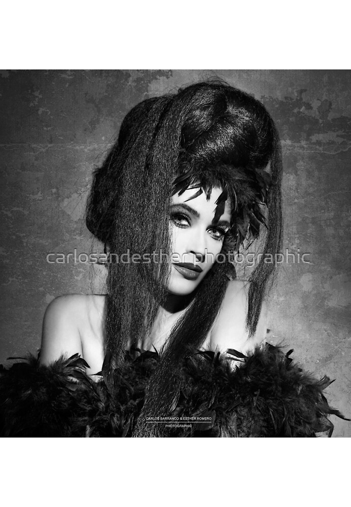 B&W Urban Tribes/Esther 1990 by carlosandesther photographic