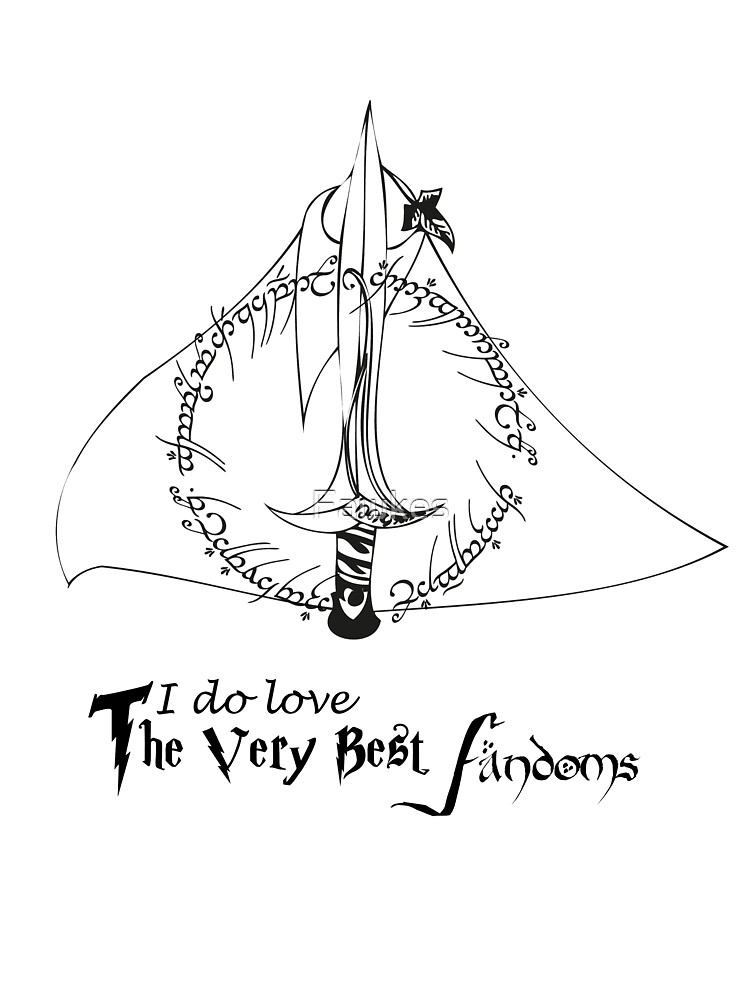 LOTR Deathly Hallows by Fawkes