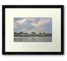 Schloss Nymphenburg (Nymphenburg Palace) 2 Framed Print