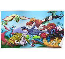 Pokemon: Dragons Unite poster/print Poster