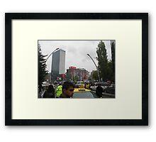 Kızılay square,Ankara Framed Print
