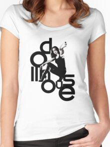 Dollhouse Women's Fitted Scoop T-Shirt