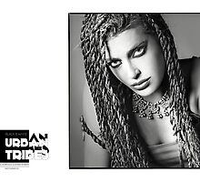 B&W Urban Tribes/Esther 1997 by carlosandesther photographic