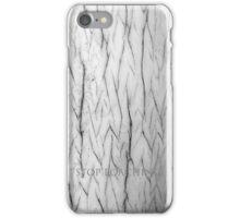 I-don't poach iPhone Case/Skin