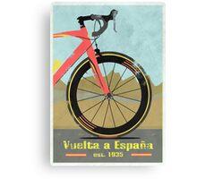 Vuelta a España Bike Canvas Print