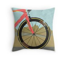 Vuelta a España Bike Throw Pillow