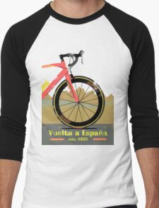 Vuelta a España Bike Men's Baseball ¾ T-Shirt