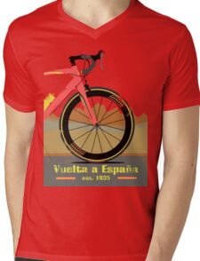 Vuelta a España Bike Mens V-Neck T-Shirt