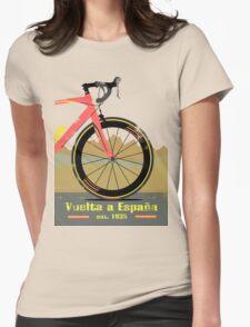 Vuelta a España Bike Womens Fitted T-Shirt