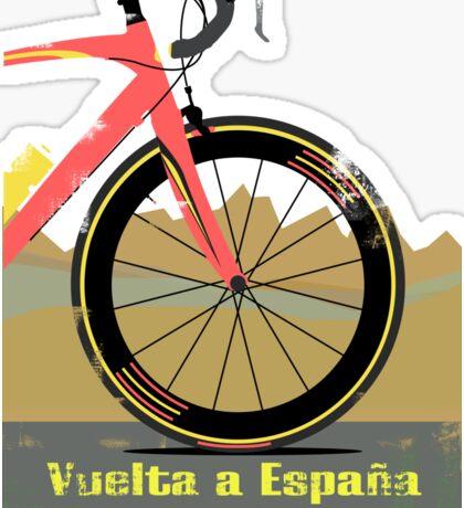 Vuelta a España Bike Sticker