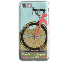 Vuelta a España Bike iPhone Case/Skin