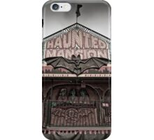 Haunted Mansion at a Carnival iPhone Case/Skin