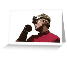 Dr. Horrible - Red Coat Greeting Card