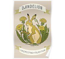 DANDELION CARD VERSION Poster