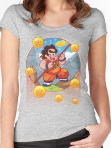 Son Steven? Stevoku? Or Gokuven? Women's Fitted Scoop T-Shirt