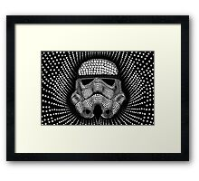 Circle Trooper Framed Print