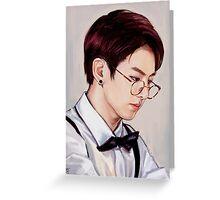 Glasses Kookie Greeting Card