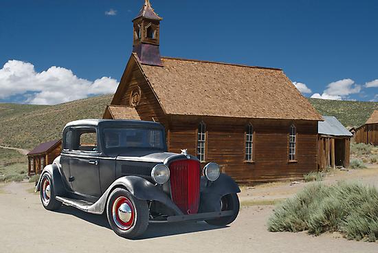 1929 Hudson Teraplane Coupe by DaveKoontz