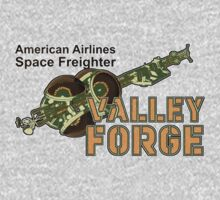 Valley Forge Space Freighter - back by Jeffery Wright