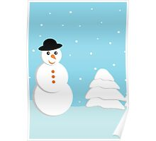 Snow doll Poster