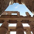temple of karnak by annet goetheer