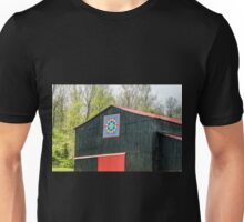 Kentucky Barn Quilt - 2 Unisex T-Shirt