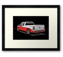 Retro Bel Air Pick-Up Truck Framed Print