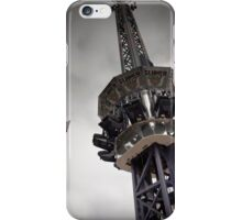 The Tower from a Free Fall Ride at a Carnival iPhone Case/Skin