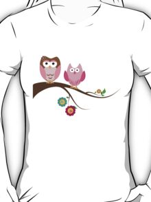 Couple owls T-Shirt