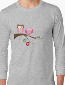 Couple owls Long Sleeve T-Shirt