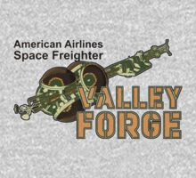 Valley Forge Space Freighter - front by Jeffery Wright