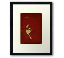 George Camsell - Boro Framed Print