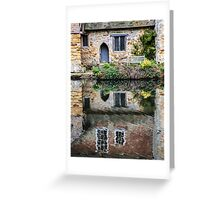 A Place To Reflect Greeting Card