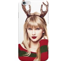 Merry Christmas Taylor Swift iPhone Case/Skin