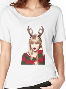 Merry Christmas Taylor Swift Women's Relaxed Fit T-Shirt