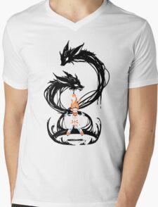 Fox Summoner Mens V-Neck T-Shirt