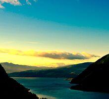 Starvation Ridge Sunset by TravisMcGuire