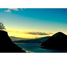 Starvation Ridge Sunset Photographic Print