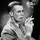 Smoking Man by Ron  Monroe